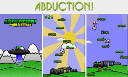 "Abduction – интересная ""прыгалка"" типа Doodle Jump"