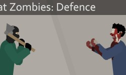 Flat Zombies: Defense & Cleanup