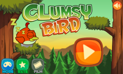 Clumsy Bird – раннер (клон Flappy Bird)