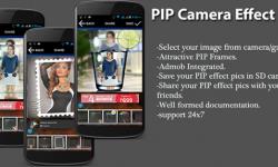 PIP Camera – незаменимое приложение для обработки селфи!
