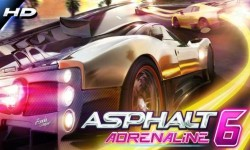 Asphalt 6 Adrenaline – получите заряд адреналина в потрясающей гонке