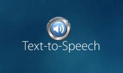«Синтезатор речи» озвучит текст на экране