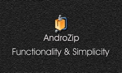 AndroZip – архиватор