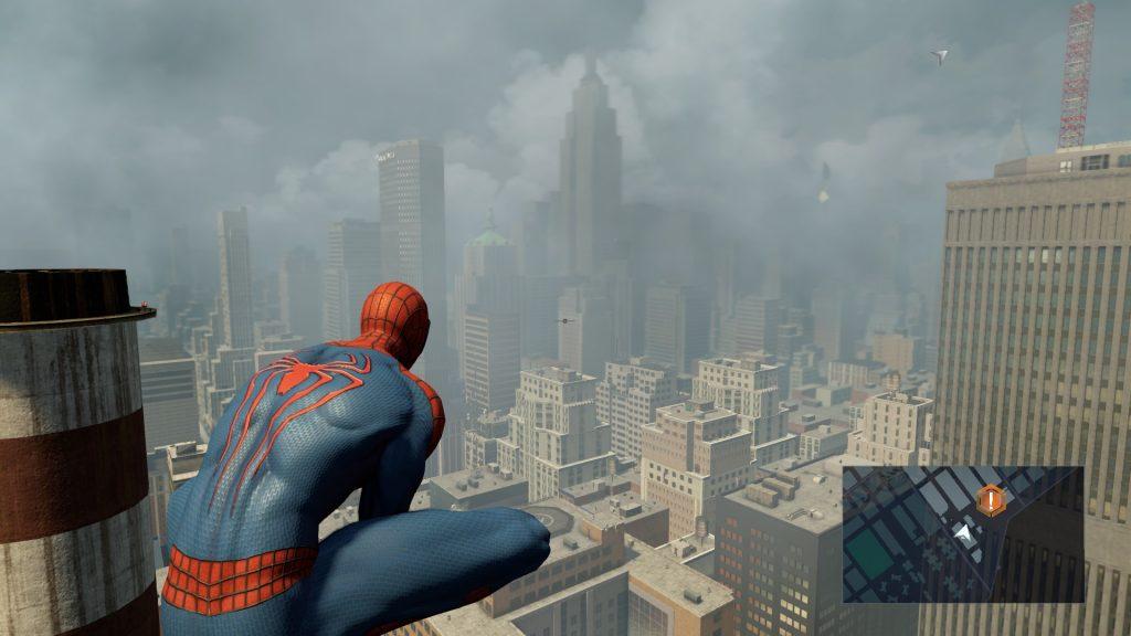 обзор игры The Amazing Spider Man