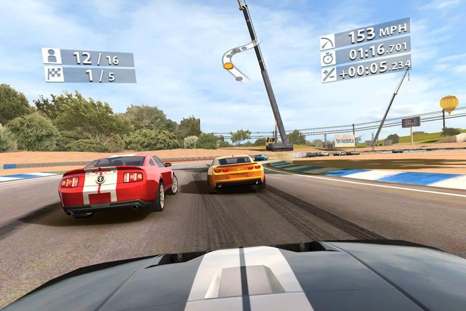обзор игры Real Racing 2