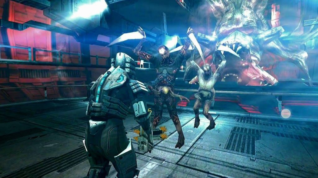 скриншот игры Dead space