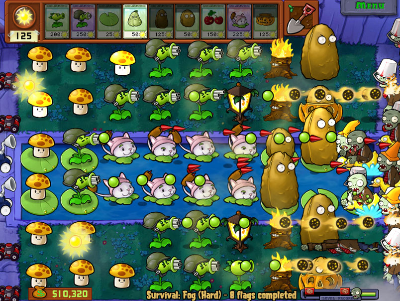 Plants-vs-Zombies игра
