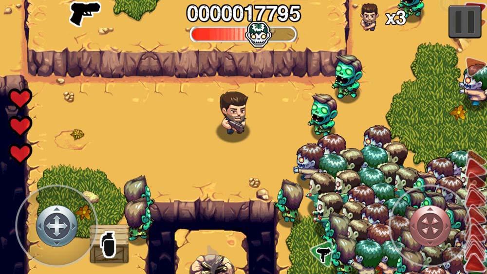 обзор игры Age of Zombies