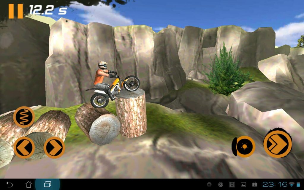 симулятор мотоцикла Trial Xtreme 2
