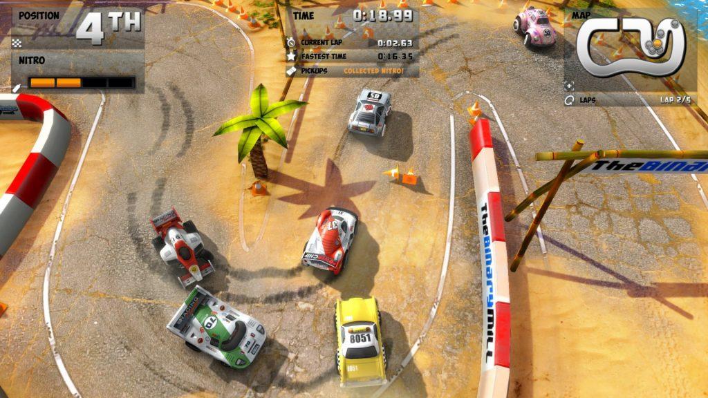 мобильная версия Mini Motor Racing