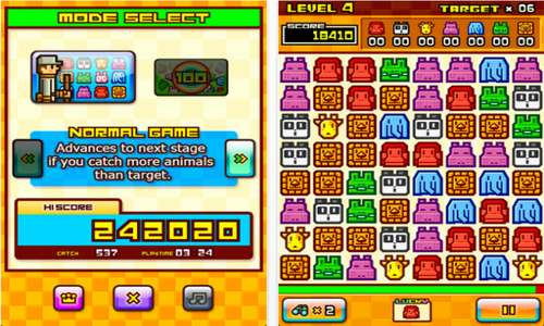 ZOOKEEPER DX Touch Edition геймплей