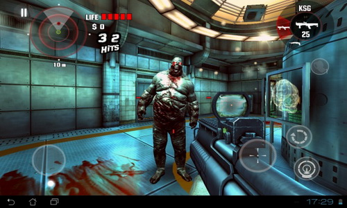 DEAD TRIGGER геймплей