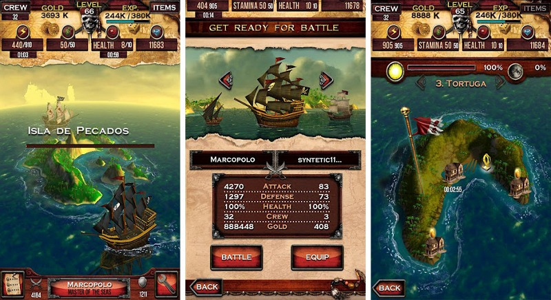 Pirates of the Caribbean android. 3