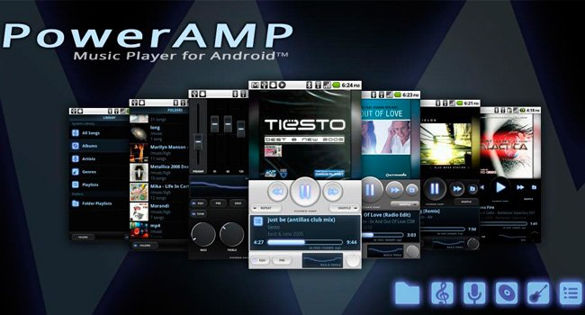 Poweramp скриншот