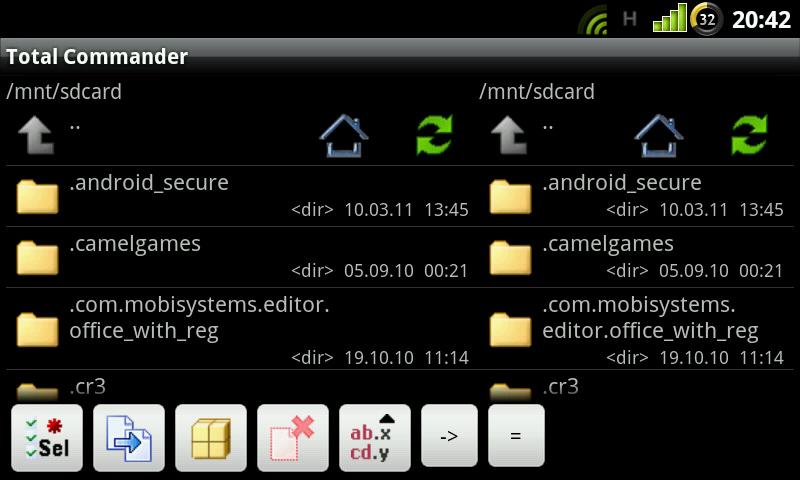 Total Commander на андроид