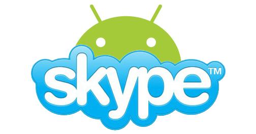 skype android лого