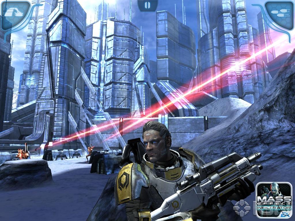 описание игры Mass Effect Infiltrator
