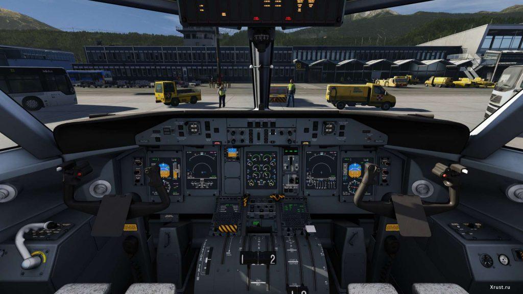 вид из кабины в Infinite Flight Simulator