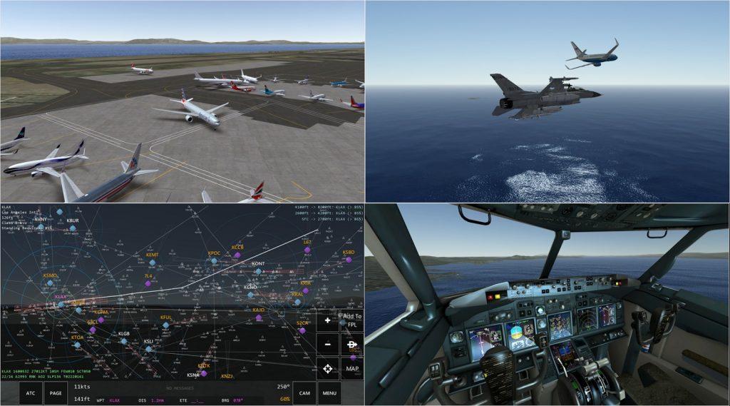 обзор игры Infinite Flight Simulator