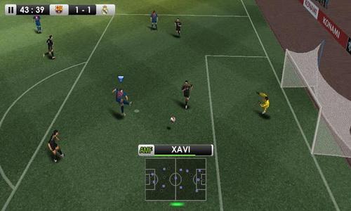 PES 2012 Pro Evolution Soccer Android геймплей