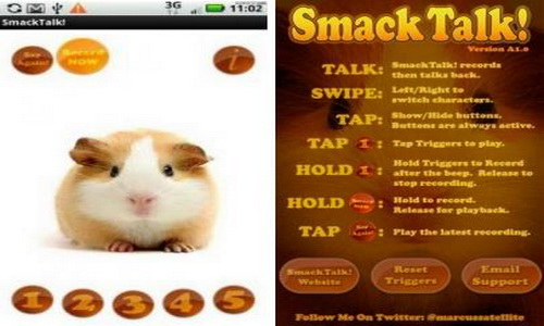 SmackTalk Android настройки