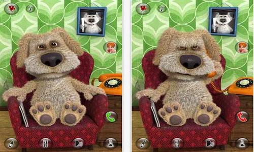 Talking Ben the Dog Android игровой процесс
