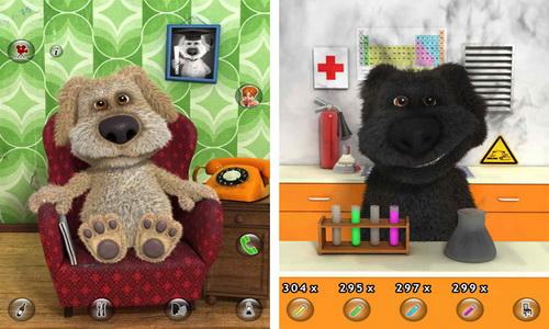 Talking Ben the Dog Android скриншот