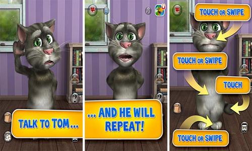 Talking Tom Cat 2 для Android интерфейс