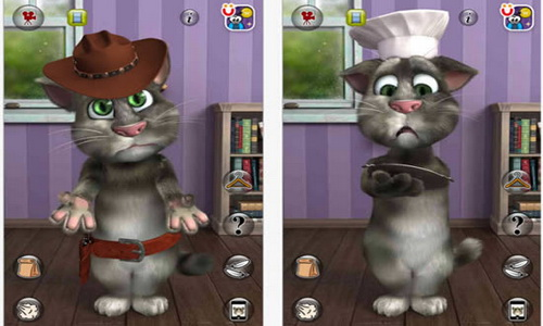 Talking Tom Cat 2 для Android скриншот