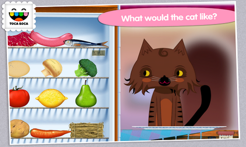 Toca Kitchen Android геймплей