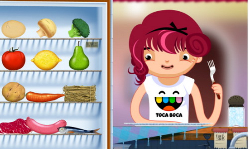 Toca Kitchen Android скриншот