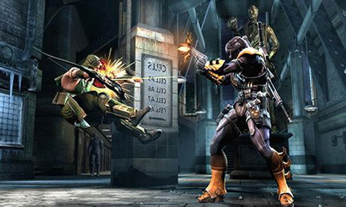 Injustice Gods Among Us Android игровой процесс