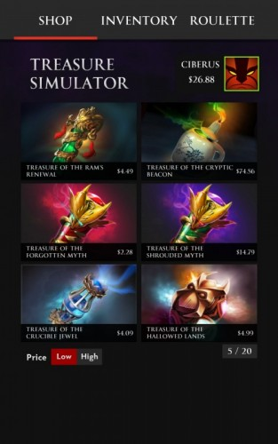 Treasure Simulator Dota 2_3