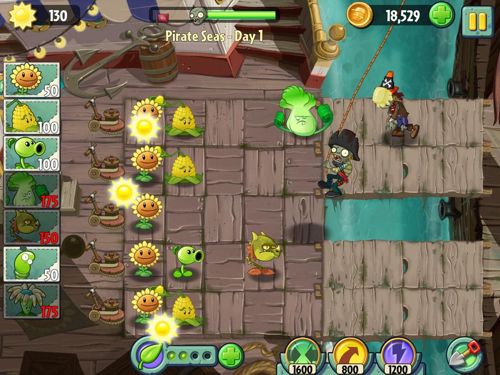 скачать растения против зомби 2