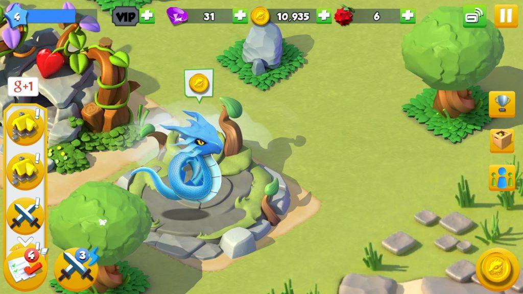 игра Dragon Mania Legends
