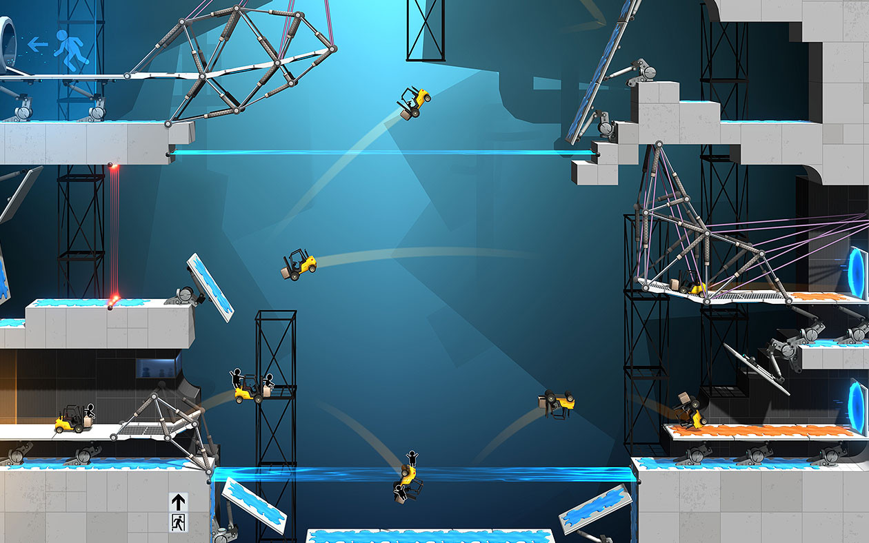 bridge constructor portal скачать на андроид