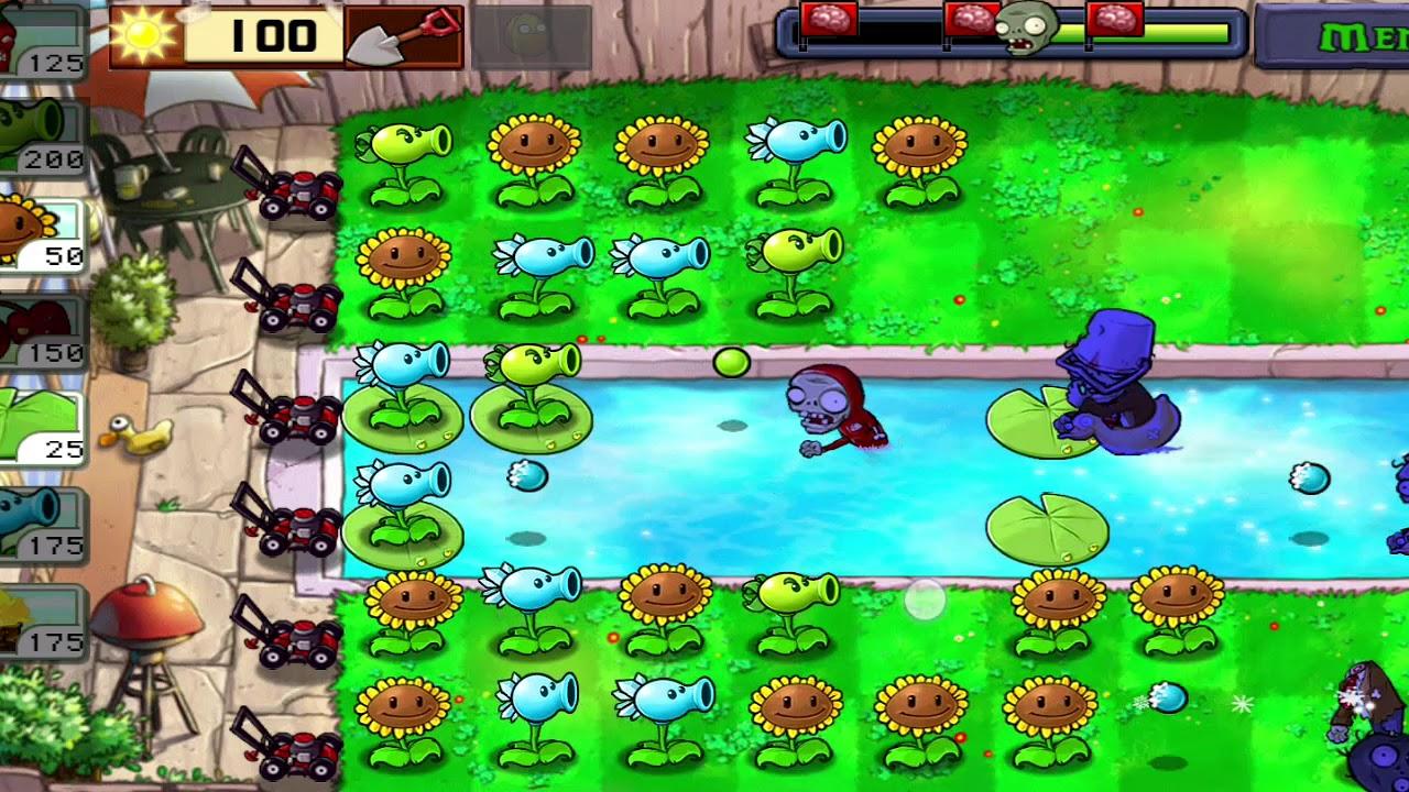 скачать игру зомби против растений