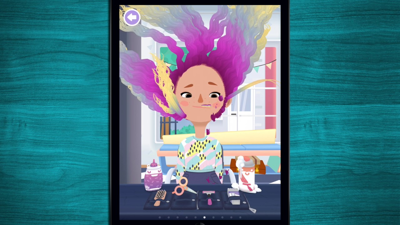 скачать toca hair salon 3