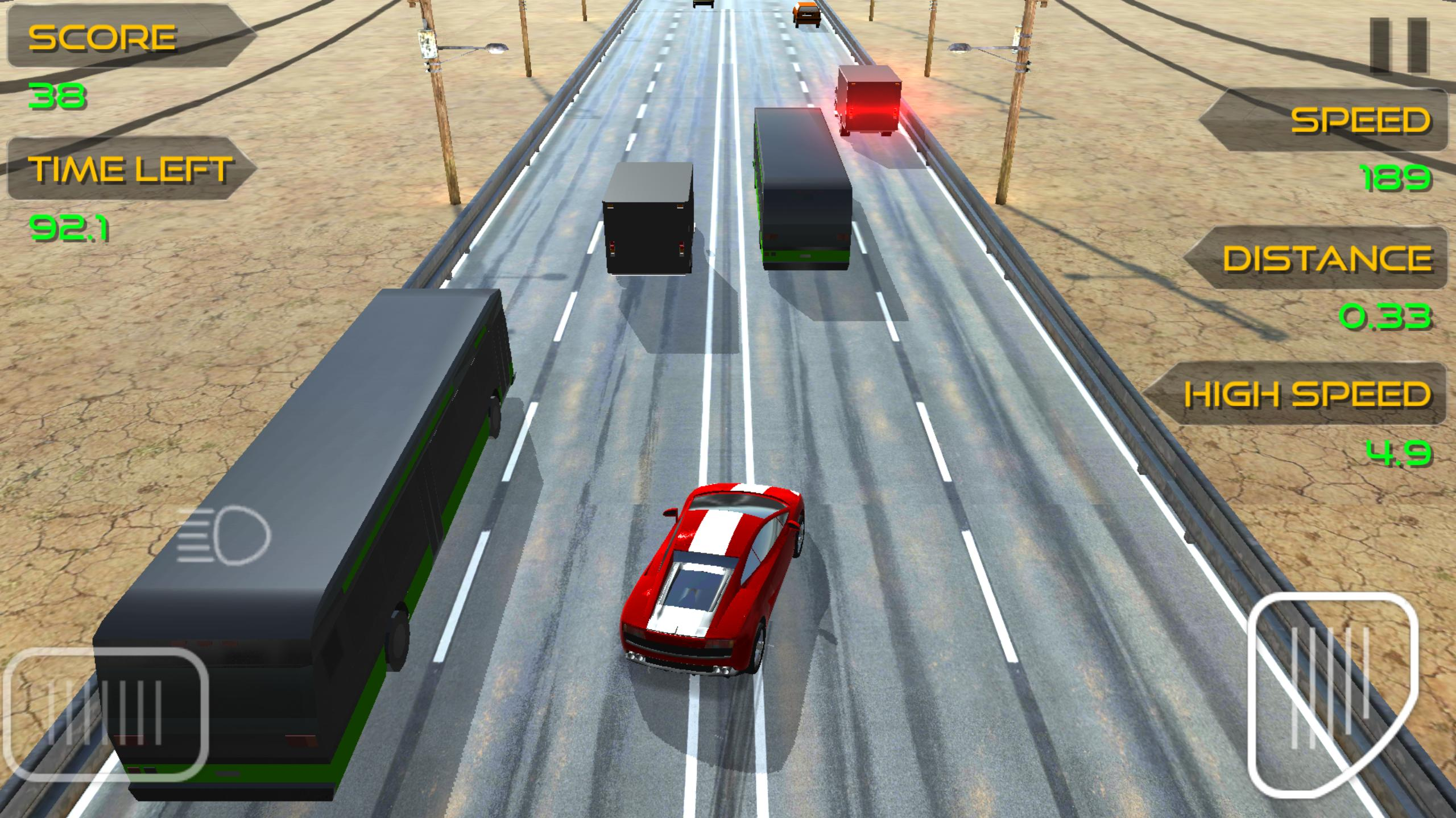 скачать взломанный traffic racer