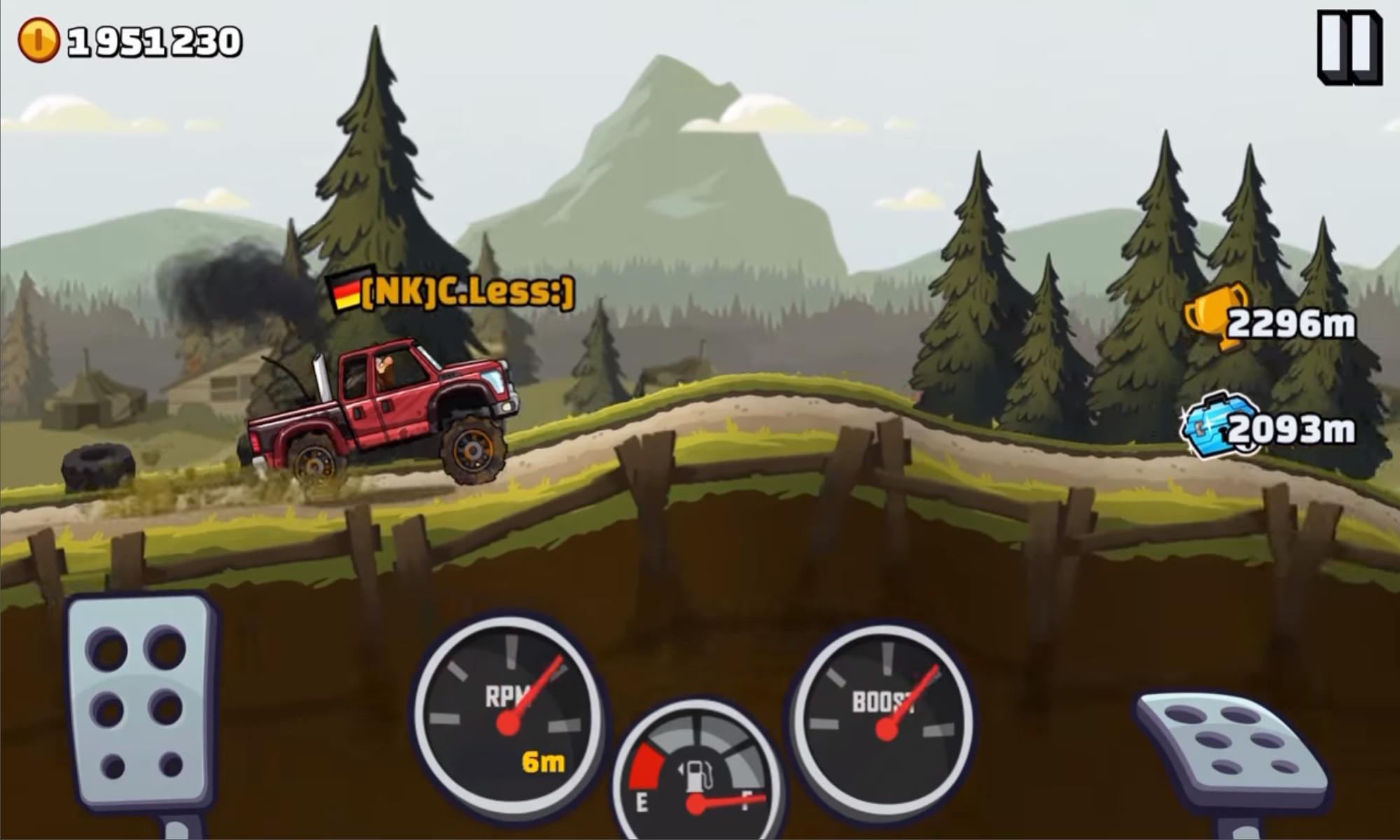 скачать hill climb racing 2 взлом
