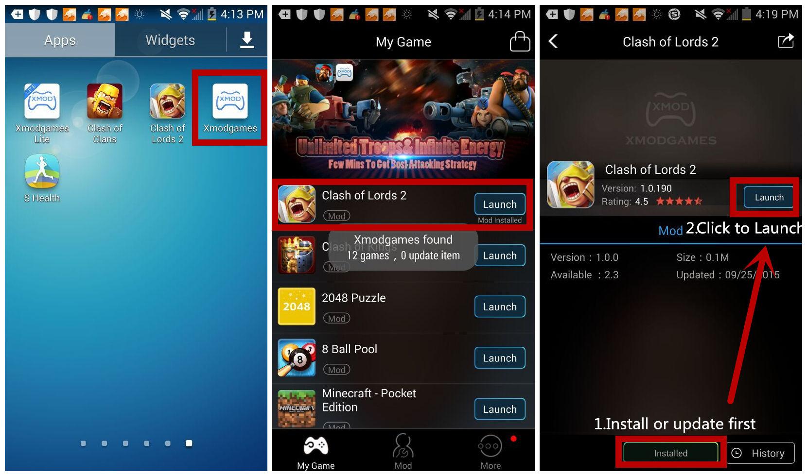 xmodgames скачать на андроид на русском