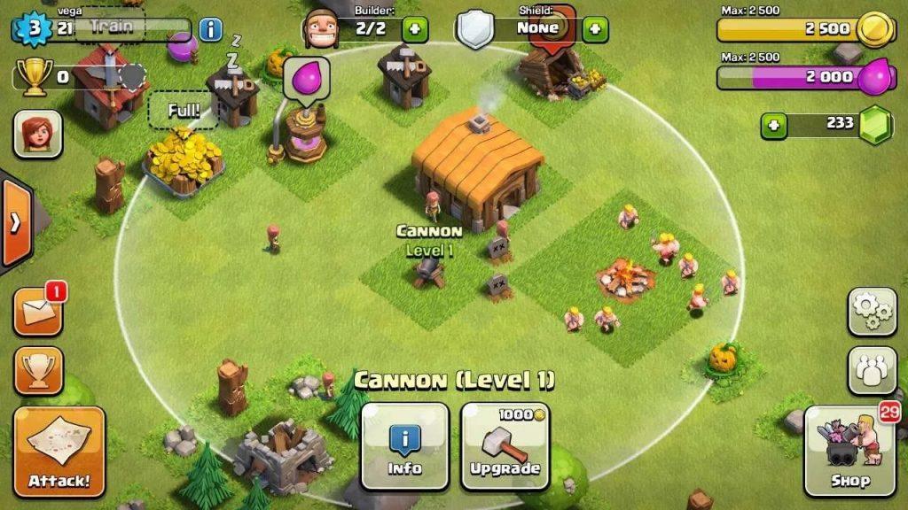здания в игре Clash of Clans