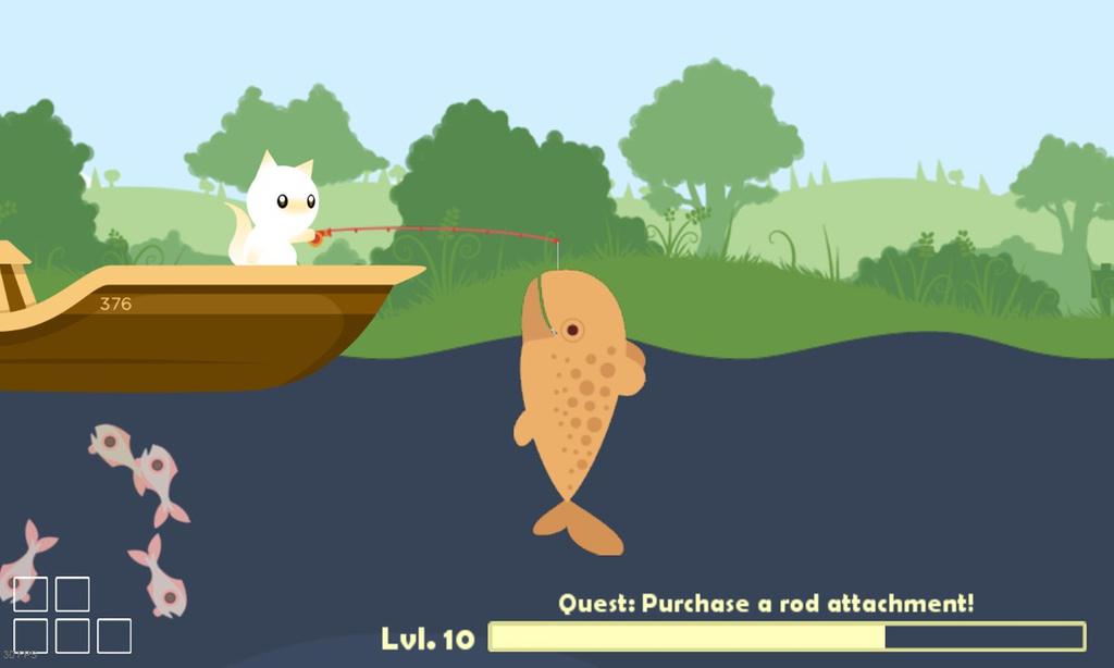 cat goes fishing скачать