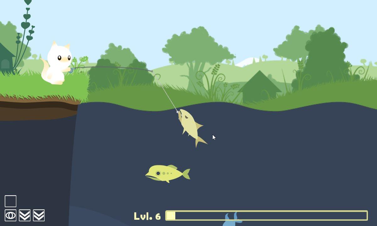 скачать cat goes fishing