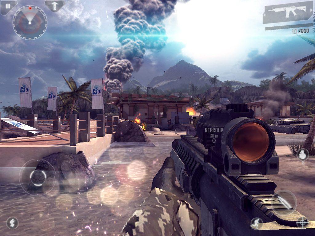 игра Modern Combat
