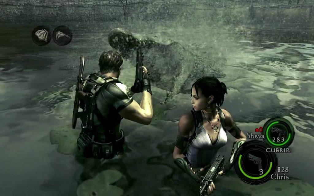 сюжет в Resident Evil