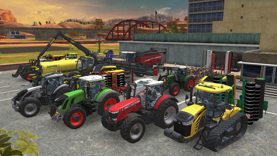 техника в Farming Simulator
