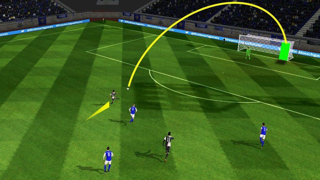планировка ударов в Dream League Soccer