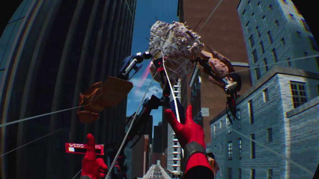 Spider-Man Виртуальная реальность