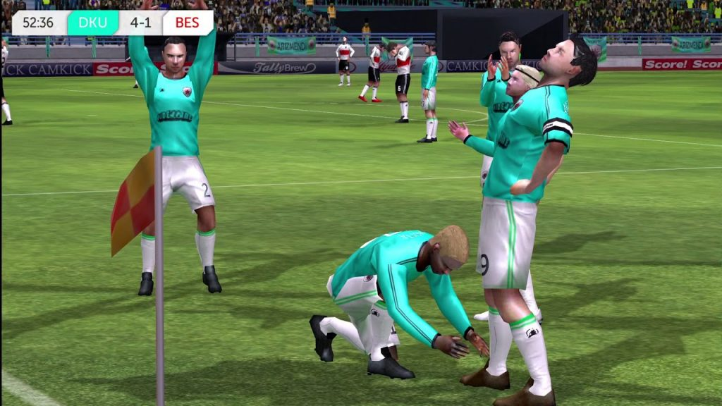 графика в Dream League Soccer